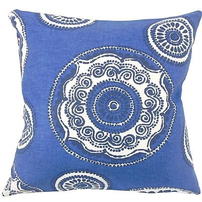 The Pillow Collection Ziraili Floral Throw Pillow; 20'' H x 20'' W x 5'' D
