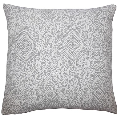 The Pillow Collection Secia Damask Throw Pillow; 20'' H x 20'' W x 5'' D