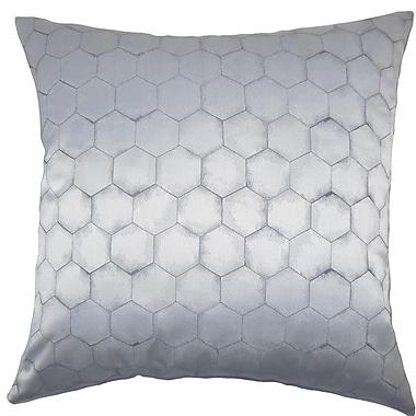 The Pillow Collection Valmai Geometric Throw Pillow; 20'' x 20''