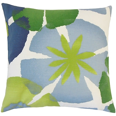 The Pillow Collection Samiya Floral Cotton Throw Pillow; 20'' H x 20'' W x 5'' D