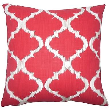 The Pillow Collection Gayora Geometric Cotton Throw Pillow; 18'' H x 18'' W x 5'' D