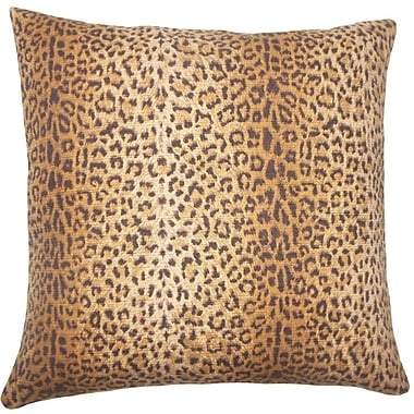 The Pillow Collection Achava Animal Print Cotton Throw Pillow; 20'' H x 20'' W x 5'' D
