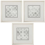 Propac Images Neutral Impressions 3 Piece Framed Graphic Art Set