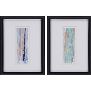 Paragon View Point II by Brennan 2 Piece Framed Graphic Art Set