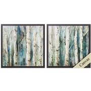 Propac Images River Birch 2 Piece Framed Painting Print Set