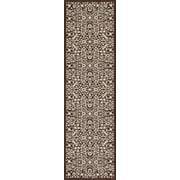 Art Carpet Kensington Brown Area Rug; Runner 2' x 8'