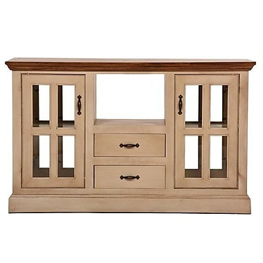 Eagle Furniture Manufacturing West Winds Kitchen Island w/ Solid Wood Plank Work Top; Havana Gold