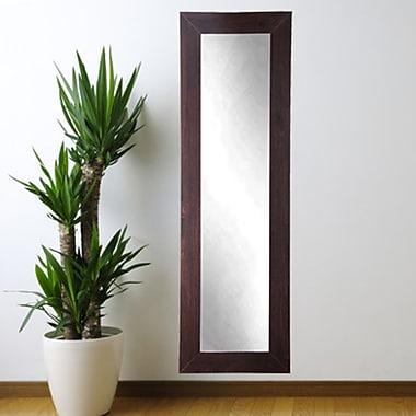 BrandtWorksLLC Walnut Floor Mirror; 71'' H x 32'' W