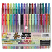 Sargent Art Gel Pens, Assorted, 36/Pack (SAR221497)