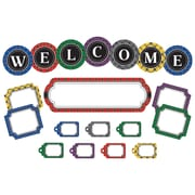 Teacher Created Resources Plaid Welcome Mini Bulletin Board Set (TCR5437)