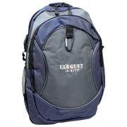 Sargent Art Premium Backpack, Gray & Blue w/ Black Trim, Nylon (SAR985039)
