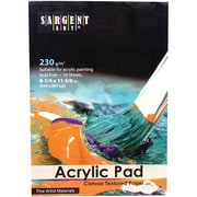 """Sargent Art 8-1/4""""x11-5/8"""" Acrylic Pad, 3 Pads Per Order (SAR235025)"""