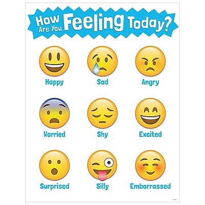 Creative Teaching Press How Are You Feeling Today Chart (CTP5385)