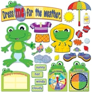 Carson Dellosa FUNky Frog Weather Bulletin Board Set (CD-110208)