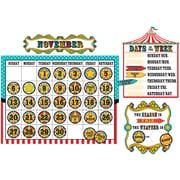 Teacher Created Resources Carnival Calendar Bulletin Board (TCR5720)