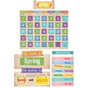 Creative Teaching Press Upcycle Style Calendar Bulletin Board Set (CTP7061)
