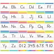 Creative Teaching Press Traditional Manuscript Alphabet Bulletin Board Set Painted Palette (CTP7055)