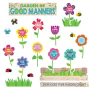 Creative Teaching Press Garden of Good Manners Mini Bulletin Board Set (CTP6949)