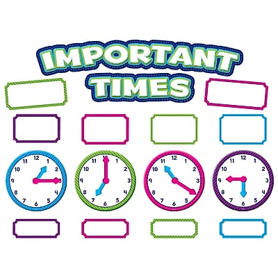 Teacher Created Resources Important Times Mini Bulletin Board (TCR5785)