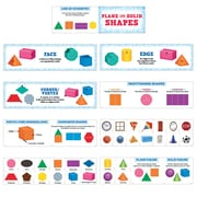 Creative Teaching Press Plane and Solid Shapes Mini Bulletin Board Set (CTP6984)