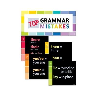 Creative Teaching Press Top Grammar Mistakes Bulletin Board Set (CTP0607)