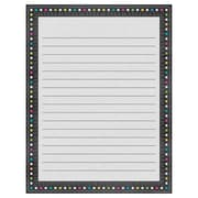"Teacher Created Resources 22 x 17"" Chalkboard Brights Lined Chart  (TCR7532)"