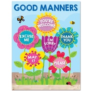"Creative Teaching Press 22 x 17"" Garden of Good Manners Chart (CTP5556)"