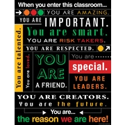 "Teacher Created Resources 22 x 17"" When You Enter This Classroom Subway Art Chart (TCR7545)"