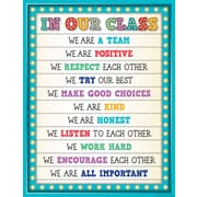 "Teacher Created Resources 22 x 17"" Marquee In Our Class Chart (TCR7528)"