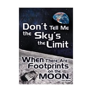 "Argus® 19 x 13"" Don't Tell Me the Sky's Poster (T-A67048)"