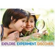 "Creative Teaching Press 19 x 13"" Explore. Experiment. Discover. Poster (CTP7266)"