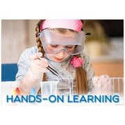 """Creative Teaching Press 19 x 13"""" Hands-on learning  Poster (CTP7265)"""
