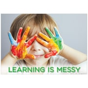 """Creative Teaching Press 19 x 13""""  Learning is messy. Poster (CTP7263)"""
