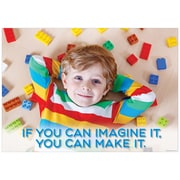 """Creative Teaching Press 19 x 13"""" If you can imagine it... Poster (CTP7261)"""