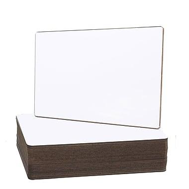 Flipside - Tableau à effacement à sec, 9 x 12 po, 24/paquet (FLP24912)