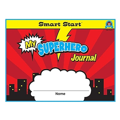 Teacher Created Resources Superhero Smart Start K-1 Journal (TCR77079)