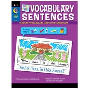 Creative Teaching Press Paperback, Cut & Paste Vocabulary Sentences(CTP2216)
