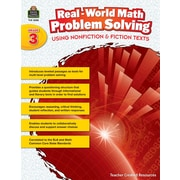 Teacher Created Resources Paperback, Real-World Math Problem Solving Grade 3(TCR8388)