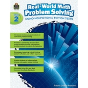 Teacher Created Resources Paperback, Real-World Math Problem Solving Grade 2(TCR8387)