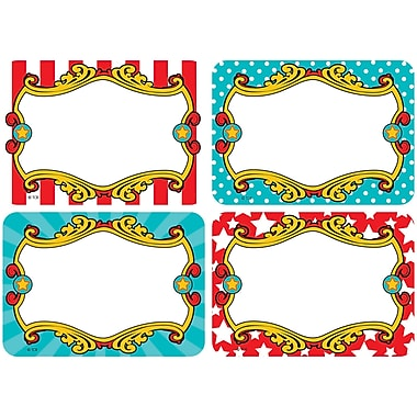 Teacher Created Resources Carnival Name Tags/Labels Multi-Pack (TCR5709)