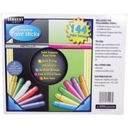 Sargent Art Tempera Paint Stick Ages 3+, 144 Pieces Per Pack (SAR932106)