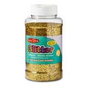 Charles Leonard Gold Glitter Ages 3+,  3 Count of 16 Oz Bottle (CHL41170)