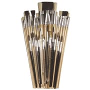 Pacon Brush Assortment  Ages 5+, Set of 40 Brushes (PACAC5220)