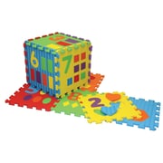 Pacon WonderFoam Mat Ages 3+, Assorted Colors, 65 Pieces Per Set (PACAC4463)