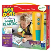 Hot Dots® Let's Master Grade 1 Reading Ages 6+, 3 Pieces Per Set (EI-2392)