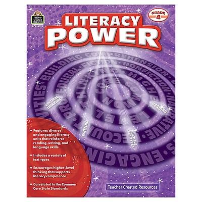 Literacy Power Grade 4 (TCR8378)