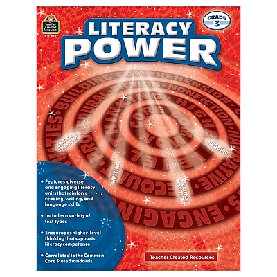 Literacy Power Grade 3 (TCR8377)