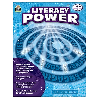Teacher Created Resources Literacy Power Grade 1 (TCR8370)
