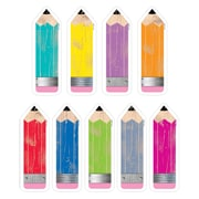 "Creative Teaching Press 6"" Pencils, Assorted Colors (CTP6592)"