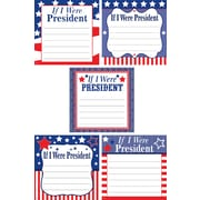 """Teacher Created Resources 6 x6"""" If I Were President, Multi-Colored (TCR5896)"""